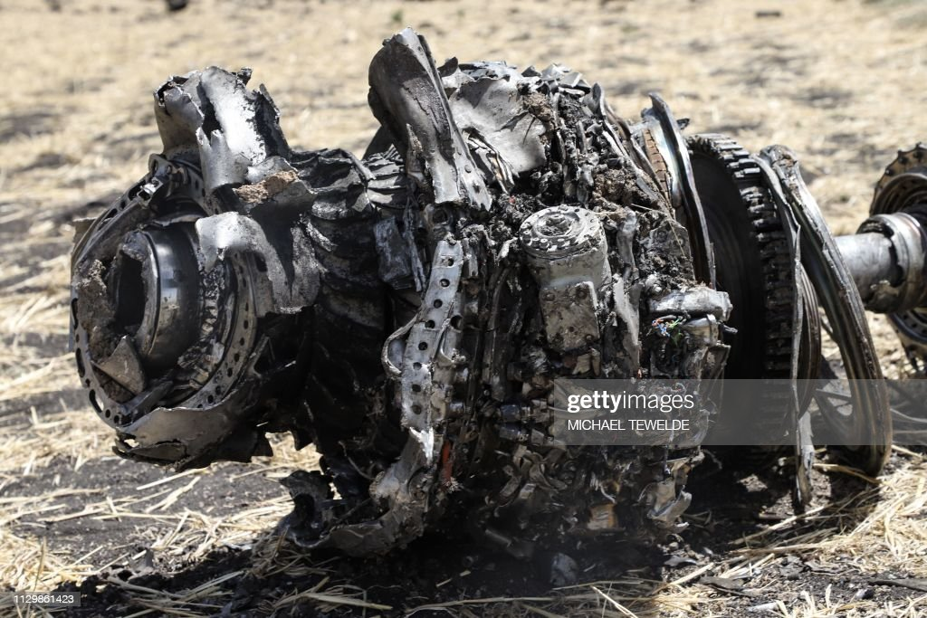 ETHIOPIA-AIR ACCIDENT : News Photo