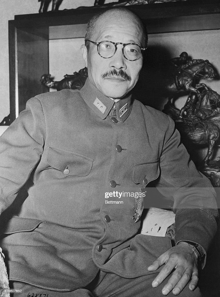 Photo shows General Hideki Toj...