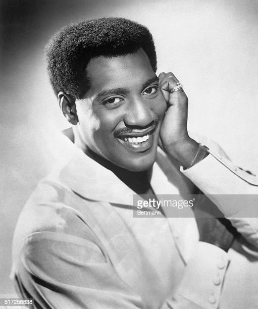 Photo shows late Stax Recording artist Otis Redding in a publicity handout Ca 1960s