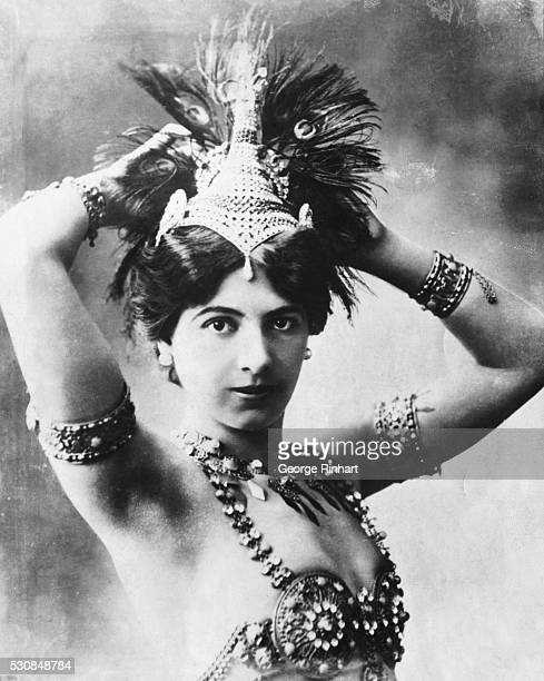 Photo shows Mata Hari as she looked in the days of her glory before the war