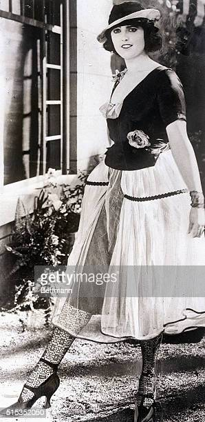 9/12/1921 Photo shows Miss Virginia Rappe actress who died following a party at Fatty Arbuckle's suite in a San Francisco hotel