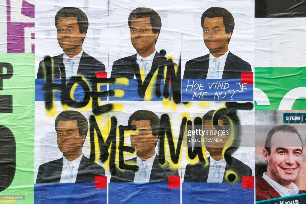 NETHERLANDS-POLITICS-VOTE : News Photo