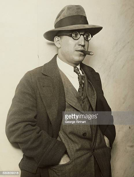 Photo shows Rocco Fanelli bodyguard of Al Capone who is the second to be jailed out of the list of gangsters sought by police in connection with the...