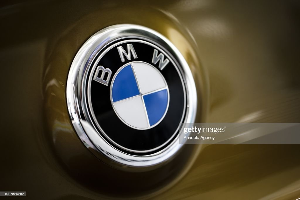 A Photo Shows The Logo Of Bmw In Ankara Turkey On September 05