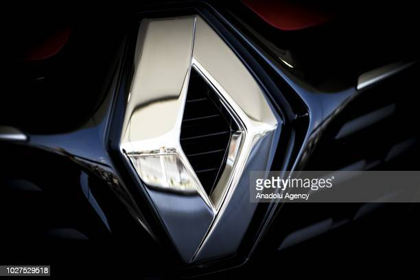 Photo shows the logo of Renault in Ankara, Turkey on September 05, 2018.