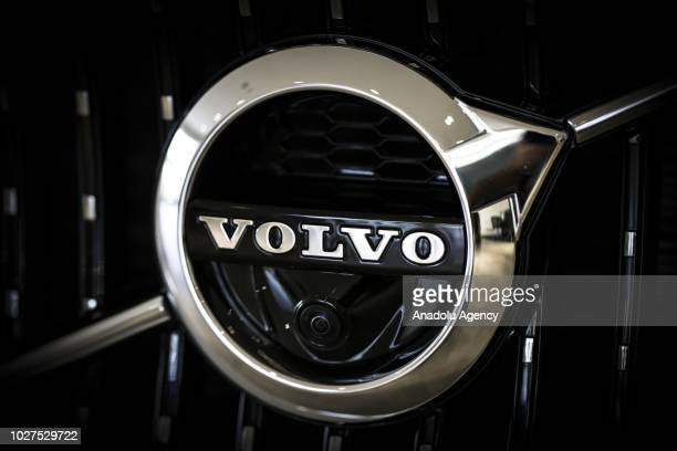 A photo shows the logo of Volvo in Ankara Turkey on September 05 2018