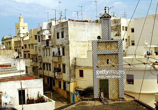 Photo shows the suburb of Mister Khouch in the northern Moroccan port of Tangiers 04 June 2003 where French national Pierre Robert reportedly also...
