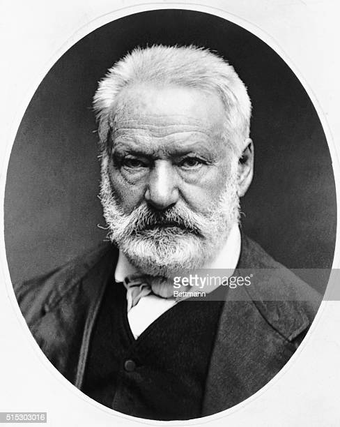 Photo shows Victor Hugo French poet and author of the book 'Les Miserables' Photo circa 1870s
