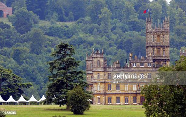 highclere castle stock fotos und bilder getty images. Black Bedroom Furniture Sets. Home Design Ideas