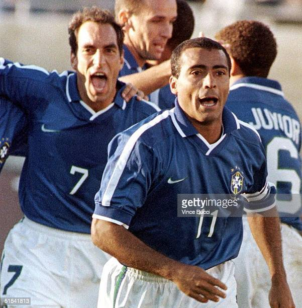 Photo taken 15 February 1998 in Los Angeles, CA of the Brazilian soccer player Edmundo who announced retirement 05 February. Foto tomada el 15 de...