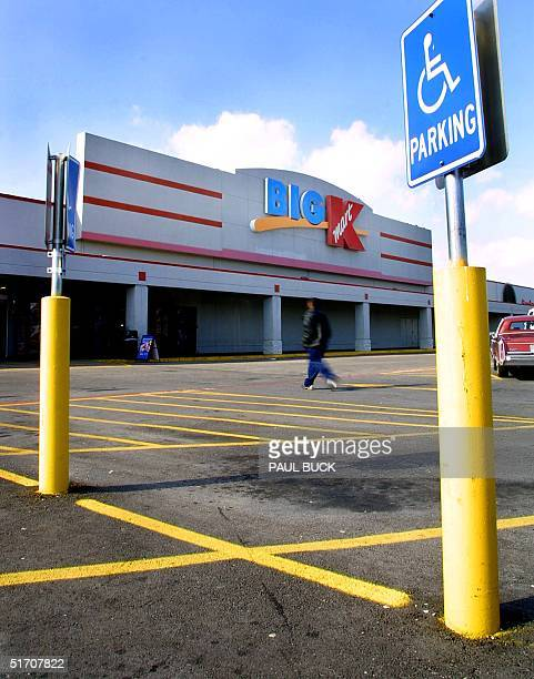 Photo taken 16 January 2002 shows slow customer traffic at a Kmart store in Dallas TX The US retailing group Kmart said 22 January 2002 it had filed...