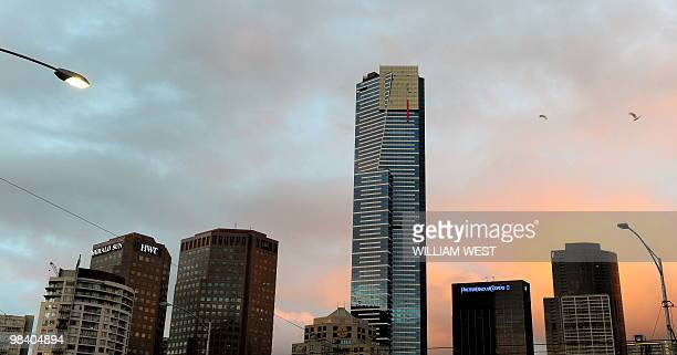 A photo taken April 2 2010 shows the Eureka Tower which is a 300metre skyscraper located in the Southbank precinct of Melbourne and completed in 2006...