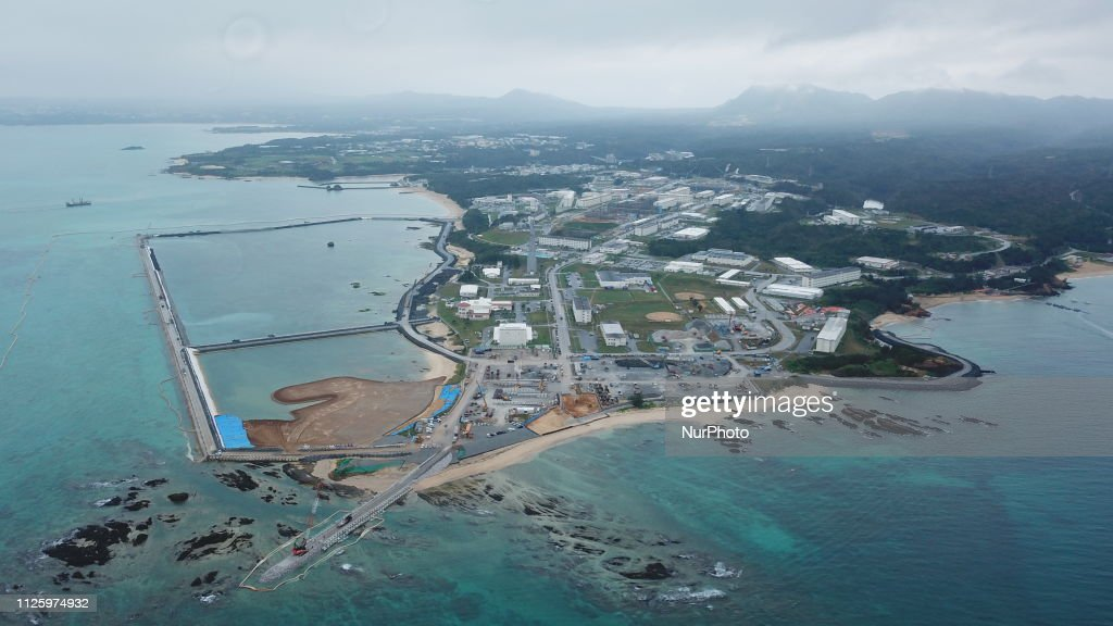 Okinawa Referendum On U. S. Base Relocation : News Photo