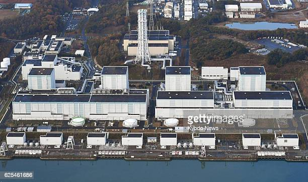Photo taken from a Kyodo News helicopter on Nov 22 shows Tokyo Electric Power Co's Fukushima Daini nuclear power plant in northeastern Japan...