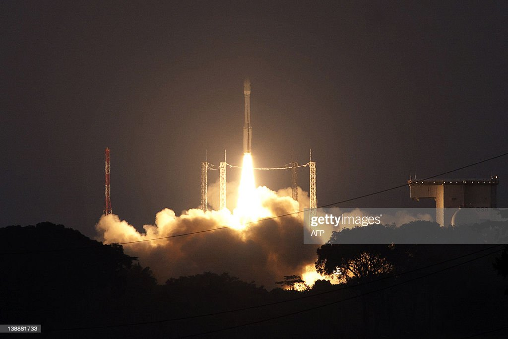 A photo taken from the European Space Ag : News Photo