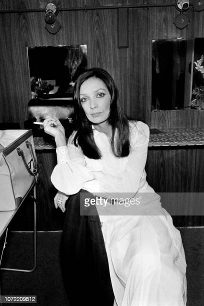Photo taken in 1972 shows French singer and actress Marie Laforêt.