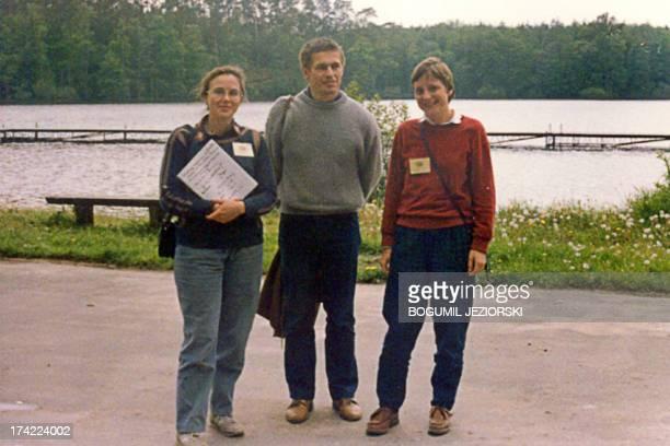A photo taken in 1989 in the northern Polish city of Bachotek shows now quantum chemistry professor Malgorzata Jeziorska Joachim Sauer the husband of...