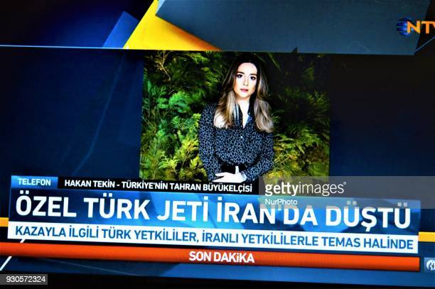 42 Turkish Private Jet Crashes In Iran Pictures, Photos
