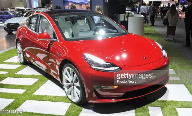 Photo taken in Los Angeles in November 2018 shows Tesla Inc's Model 3 sedan On Feb 28 the maker of electric cars began to take online orders for its...