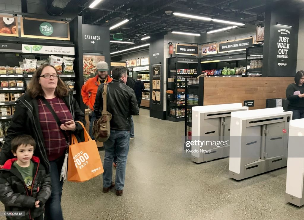 Amazon's cashierless store : News Photo