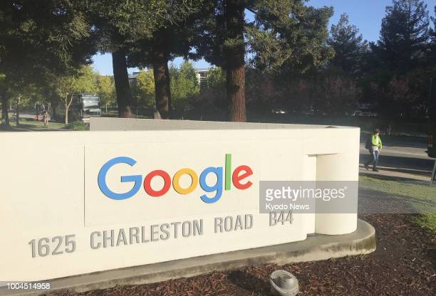 Photo taken in May 2018 shows Google Inc's headquarters in Mountain View California ==Kyodo