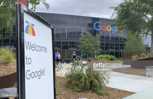 Photo taken in May 2019 shows Google LLC's headquarters in Mountain View, California.