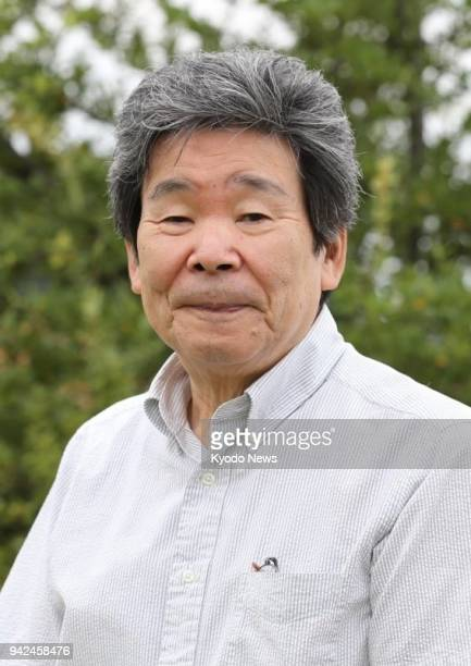 Photo taken in September 2016 shows Japanese animated film director Isao Takahata, who died at age 82 on April 5 at a Tokyo hospital. ==Kyodo