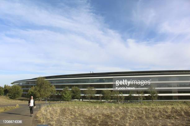 Photo taken in September 2018 shows Apple Inc.'s head office in Cupertino, California.