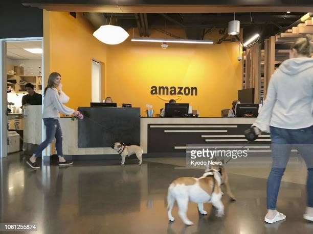 Photo taken in September 2018 shows the Amazoncom Inc headquarters in Seattle ==Kyodo