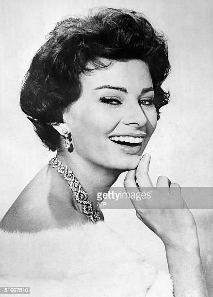 Photo taken in the 1960's of Italian actress Sophia Loren Sophia Loren originally Sofia Scicolone was born 20 September 1934 in Rome and was...