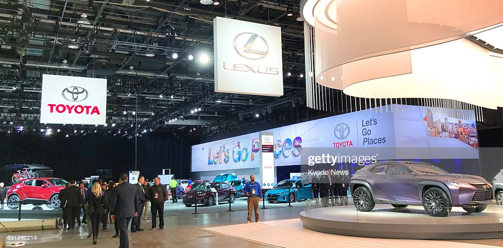Toyota Booth At North American Intl Auto Show In Detroit Pictures - Car show booth