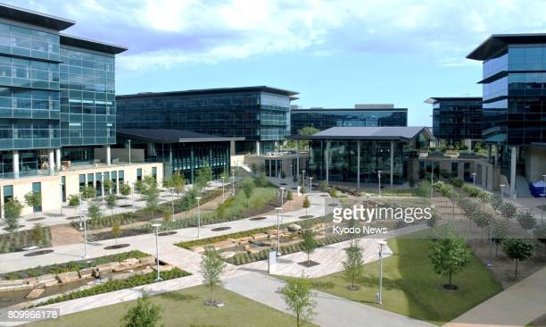Photo taken July 6 shows Toyota Motor Corp's new North American headquarters in Plano Texas which will bring up to 4000 jobs to the North Texas area...