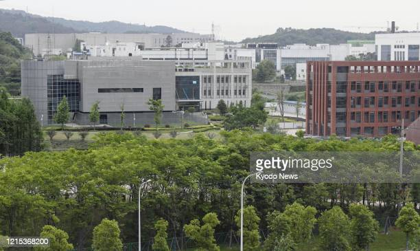Photo taken May 20 shows the Wuhan Institute of Virology in the central China city of Wuhan, the first epicenter of the global coronavirus pandemic.