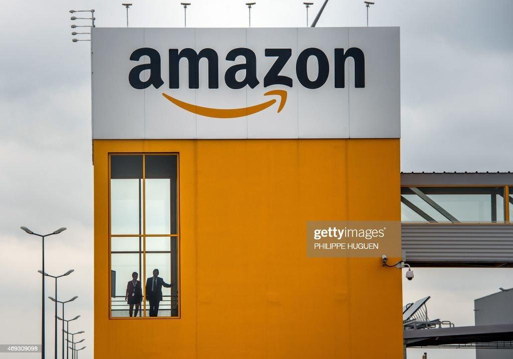 FRANCE-DISTRIBUTION-AMAZON : News Photo