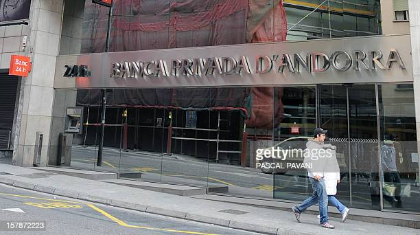 Photo taken on April 2009 in the city of AndorrelaVielle shows a building of the Banca Privada d'Andorra bank in the principality of Andorra AFP...