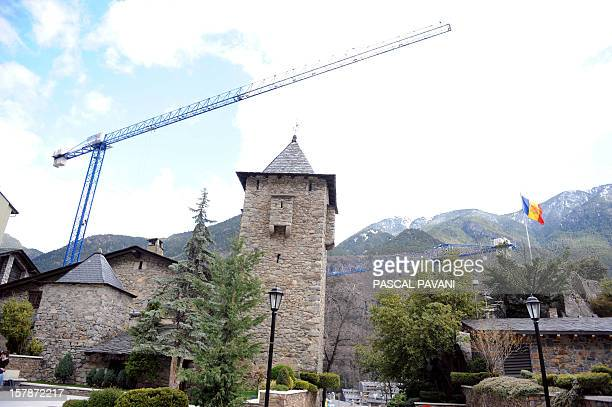 Photo taken on April 2009 in the city of AndorrelaVielle shows the former presidential palace of the principality of Andorra AFP PHOTO PASCAL PAVANI