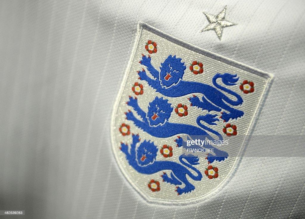 FBL-WC2014-JERSEY-ENGLAND : News Photo