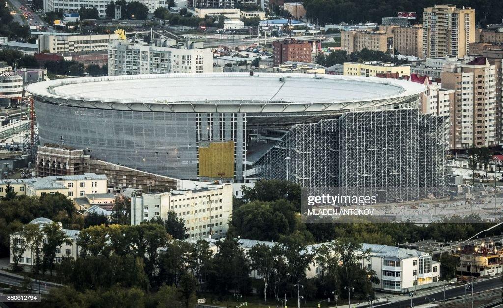 FBL-WC-2018-DRAW-BIZARRE : News Photo