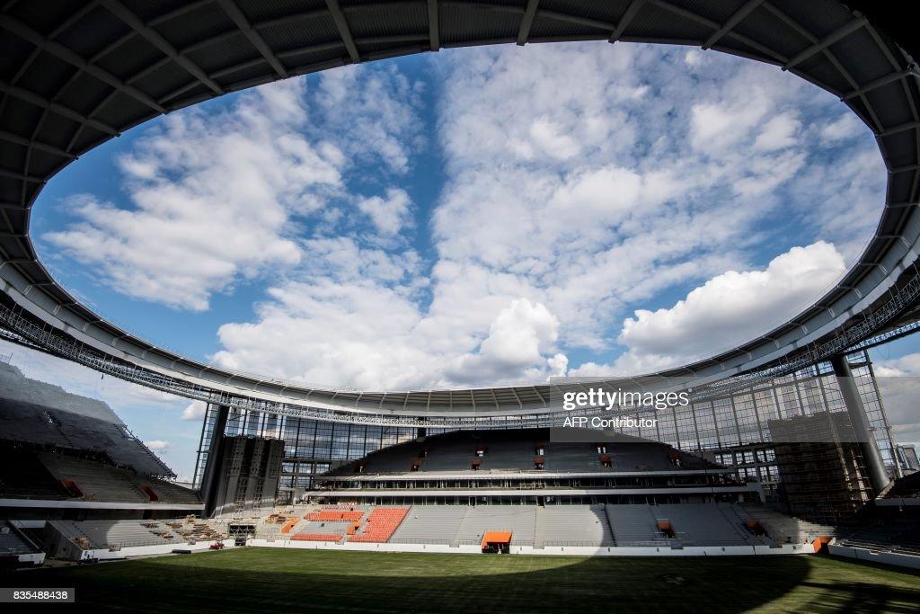 FBL-RUS-WC-2018-STADIUM : News Photo