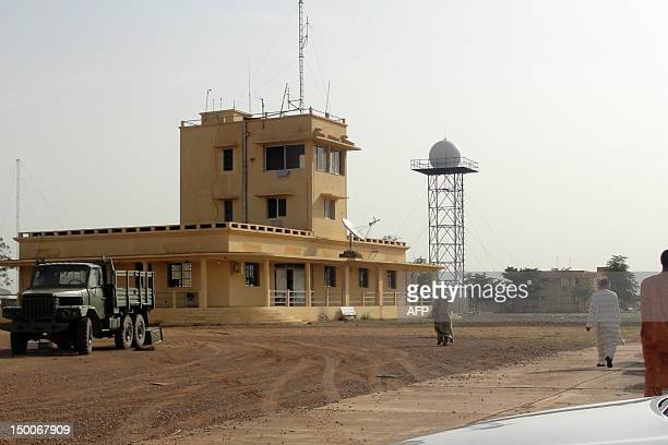 Photo taken on August 7, 2012 shows Gao Airport in northern Mali. Mali's government said on August 9 that military intervention in the Islamist-held...
