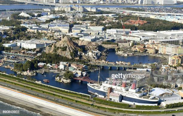 Photo taken on Dec 11 from a Kyodo News helicopter shows Tokyo DisneySea and Tokyo Disneyland ==Kyodo