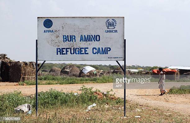 Photo taken on December 15 2011 shows the Bur Amino refugee camp in Dolo Ado Ethiopia Over 300000 refugees have fled severe drought conflict and...