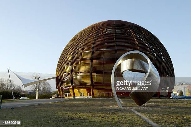 ROUX A photo taken on February 10 2015 shows the Globe of Science and Innovation at the European Organisation for Nuclear Research in Meyrin near...