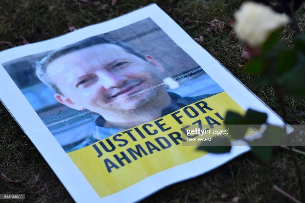 BELGIUM-IRAN-JUSTICE-DEMO-DJALALI : News Photo