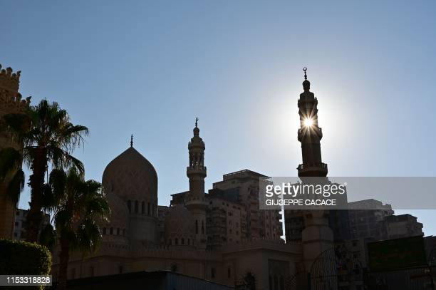 A photo taken on July 2 2019 shows the Abu alAbbas alMursi Mosque in Egyptian city of Alexandria