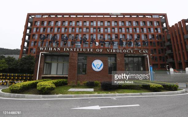 Photo taken on May 20 shows the Wuhan Institute of Virology in Wuhan, a central China city which was the epicenter of the outbreak of the new...