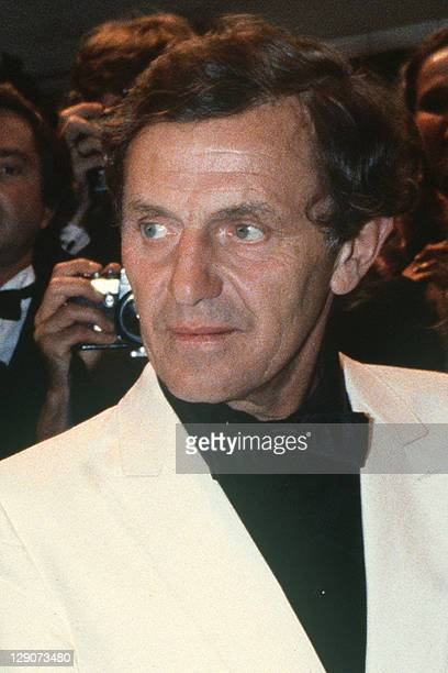Photo taken on May 27 1981 in Cannes southern France showing German actor Heinz Bennent during the 34th International film festival Bennent died on...