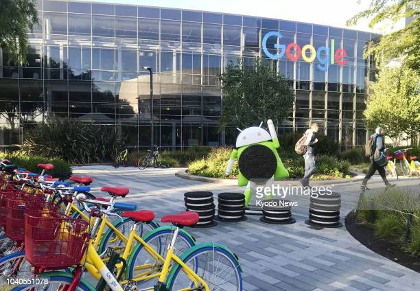Photo taken on May 7 shows Google Inc's headquarters in Mountain View California ==Kyodo