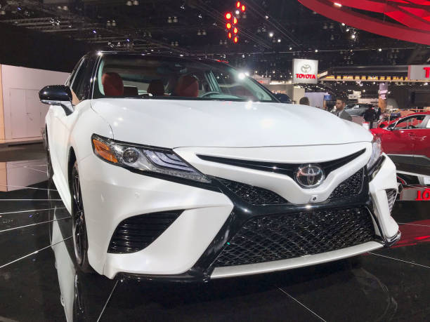 30 2017 In Los Angeles Shows Toyota Motor Corp