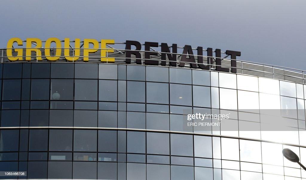 FRANCE-RENAULT-NISSAN-MITSUBISHI-TRANSPORT : News Photo
